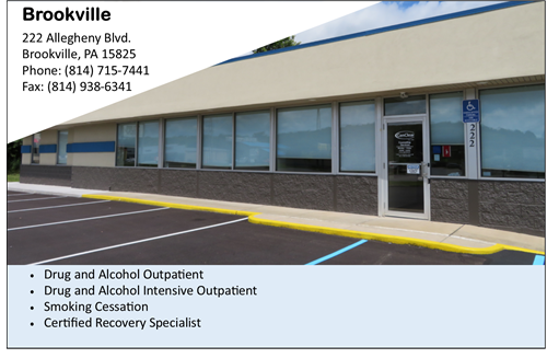 Drug and Alcohol services near Brookville addiction services near Brookville CenClear Drug and Alcohol Services near DuBois