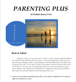 Parenting Covid Help With Return to School