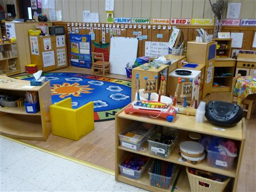 CenClear offers free preschool to low income families in Clearfield, Centre and Elk Counties. Preschool classroom