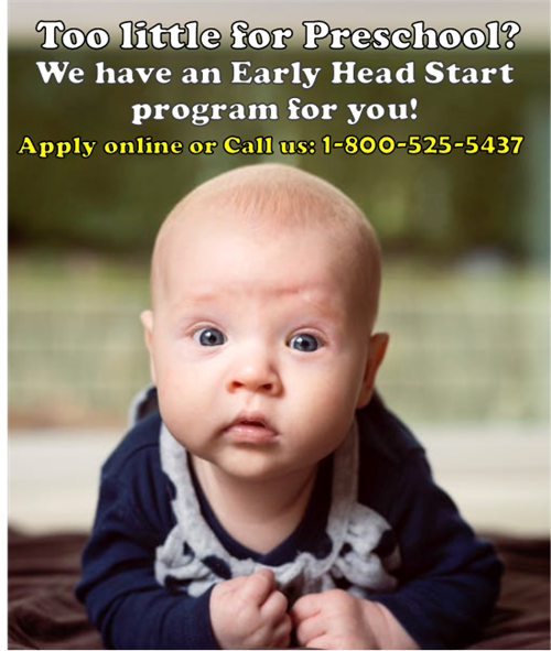 Early Head Start State College CenClear Centre County babies CenClear toddlers CenClear State College
