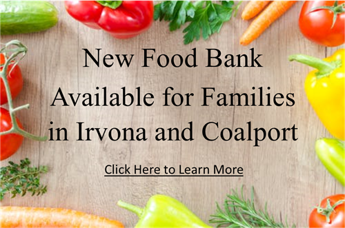 Food Bank for People in Irvona and Coalport John Lightner