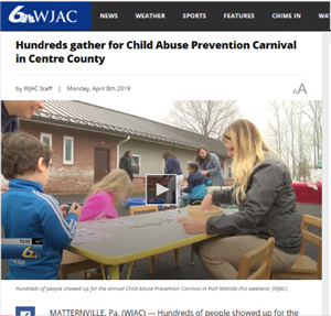 CenClear holds Child Abuse Prevention Carnival