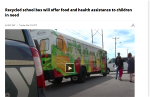 CenClear works with YMCA for nutrition bus